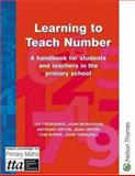 Learning to Teach Number, Len Frobisher and John Monaghan, 0748735151