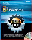 Microsoft Office Word 2003, Millhollon, Mary and Murray, Katherine, 0735615152