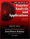 Journal of Fourier Analysis and Applications, Benedetto, 0849315158