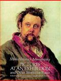 Pictures at an Exhibition and Other Works for Piano, Modest Petrovich Moussorgsky, 0486265153
