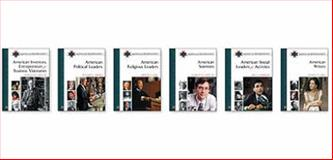 American Biographies Set, Various, 0816065152