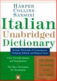 HarperCollins Sansoni Italian Dictionary, Henry H. Collins, 0062755161