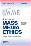 Ethics Across Professions : A Special Double Issue of the Journal of Mass Media Ethics, , 0805895167