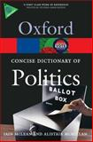 The Concise Oxford Dictionary of Politics 3rd Edition