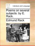 Poems on Several Subjects, Edmund Rack, 1170515169