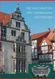 Die Inschriften des Landkreises Göttingen, Wehking, Sabine, 3895005169