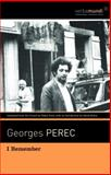 I Remember, Georges Perec, 1567925170