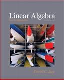 Linear Algebra and Its Applications, Lay, David C., 0321385179
