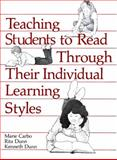 Teaching Students to Read Through Their Individual Learning Styles, Carbo, Marie and Dunn, Rita S., 0835975177