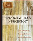 Research Methods in Psychology, Shaughnessy, John J. and Zechmeister, Eugene B., 007803518X