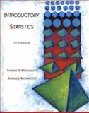 Introductory Statistics, Wonnacott, Thomas H. and Wonnacott, Ronald J., 0471615188