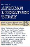 Orature in African Literature Today, Eustace Palmer, Marjorie Jones, 0852555180
