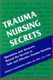 Trauma Nursing Secrets, Cohen, Sharon Saunderson, 1560535180