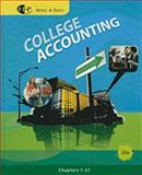 College Accounting, Heintz, James A. and Parry, Robert W., 0538745193