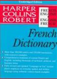 HarperCollins Robert French Dictionary, HarperCollins Publishers Ltd. Staff, 0062755196