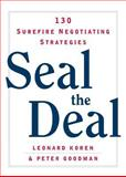 Seal the Deal, Leonard Koren, 0393325199