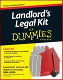 Landlord's Legal Kit for Dummies, Consumer Dummies, 1118775198