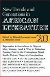 New Trends and Generations in African Literature, Marjorie Jones, 0852555202