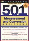 501 Measurement and Conversion, LearningExpress Staff, 1576855201