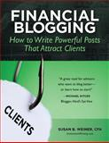 Financial Blogging, Susan B. Weiner Cfa, 1484975200