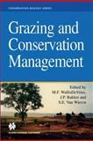 Grazing and Conservation Management, WallisDeVries, Michiel F. and Bakker, J. P., 0412475200