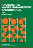 Radioactive Waste Management and Disposal, Simon, R., 0521115205
