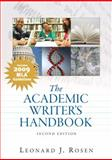 Academic Writer's Handbook, MLA Update Edition 9780205745210