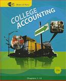 College Accounting, Heintz, James A. and Parry, Robert W., 0538745215