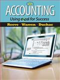 Accounting Using Excel for Success, Reeve, James and Warren, Carl S., 1111535213
