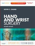 Operative Techniques: Hand and Wrist Surgery : Book, Website and DVD, 2-Volume Set (Expert Consult - Online and Print), Chung, Kevin C., 1437715214
