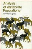Analysis of Vertebrate Populations, Caughley, Graeme, 1930665210