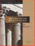 Microfilm Resources for Research, , 1880875225