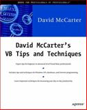 VB Tips and Techniques, McCarter, David, 1893115224