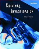 Criminal Investigation, Becker, Ronald F., 0763755222