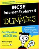 MCSE Internet Explorer 5 for Dummies, Dummies Technical Press Staff, 076450522X