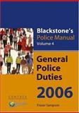 General Police Duties 2006 9780199285228