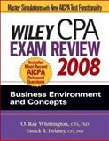 Wiley CPA Exam Review : Business Environment and Concepts, Whittington, O. Ray and Delaney, Patrick R., 0470135220