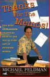 Thanks for the Memos, Feldman, Michael, 1560795239