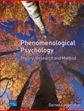 Phenomenological Psychology : Theory, Research and Method, Langdridge, Darren, 0131965239