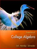 Essentials of College Algebra, Lial, Margaret L. and Schneider, David I., 0321385233