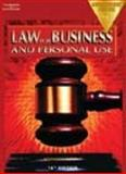 Law for Business and Personal Use, Adamson, John E., 0538435232