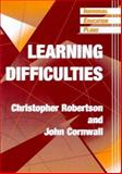 IEPs : Learning Difficulties, Robertson, Christopher and Cornwall, John, 1853465240