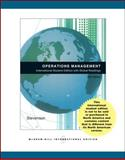 Operations Management Alternate Version with Student Dvd, Stevenson, Wayne, 0071265244