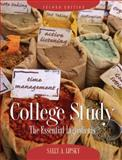 College Study : The Essential Ingredients, Lipsky, Sally, 013158524X