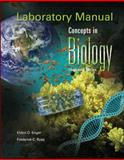 Laboratory Manual Concepts in Biology, Enger, Eldon and Ross, Frederick, 0077295250