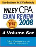 Wiley CPA Exam Review 2008 4-volume Set, Delaney,  Delaney, Patrick R., Patrick R, 0470135255