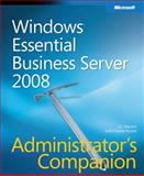 Windows® Essential Business Server 2008, Mackin, J. C. and Russel, Charlie, 0735625255