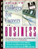 College for Careers in Business, Peterson's Guides, 1560795263