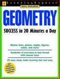 Geometry Success in 20 Minutes a Day, LearningExpress Editors, 1576855260
