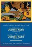Concise History of Western Music, Hanning and Burkholder, J. Peter, 0393935264